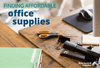 Finding Affordable Office Supplies: Office Supply Budget