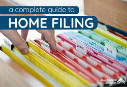 A Complete Guide to Home Filing: Cabinets, Categories, and More