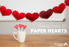 Creative Valentine Office Ideas: How to Make 3D Paper Hearts