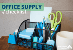 Free Downloadable Office Supply Checklist Form