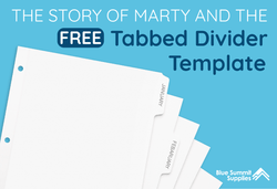 Free Tabbed Divider Template