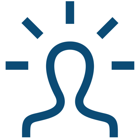 Mindful Person Icon