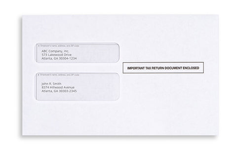 standard half sheet envelopes