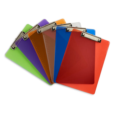 colored clipboards