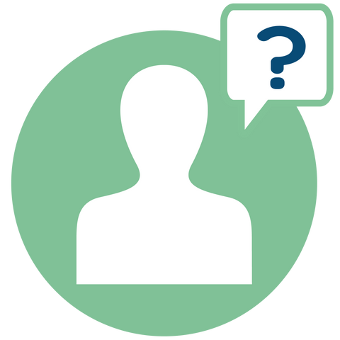 Person Asking Question Icon