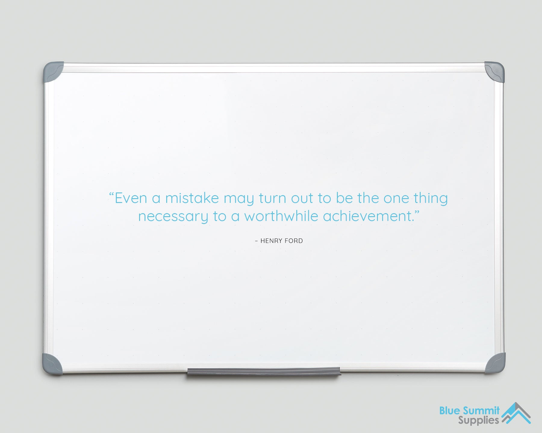 Blue Summit Supplies - Whiteboard Disaster - Henry Ford Quote
