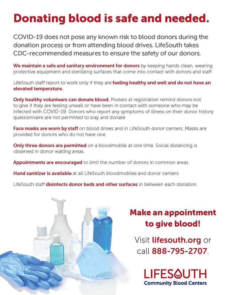Lifesouth flier