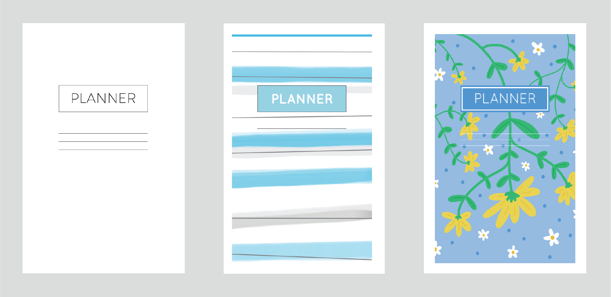 diy planner pages preview