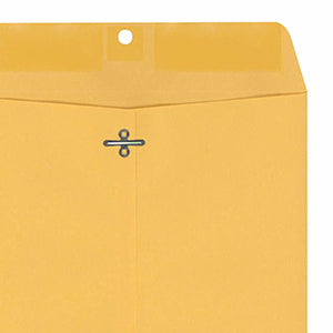 Types of Envelope Seals: Gummed Metal Clasp Envelope