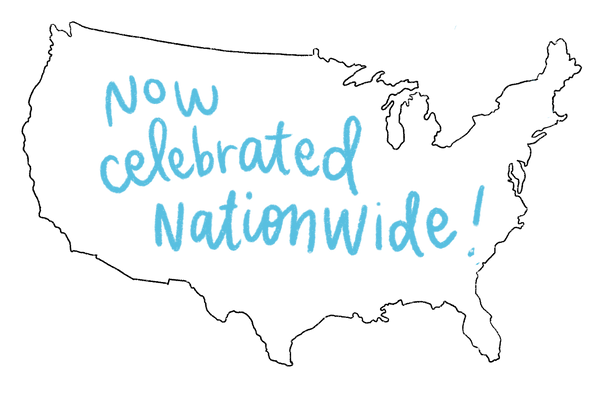 now celebrated nationwide