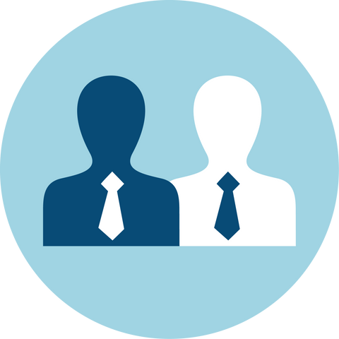 Men with Ties Icon