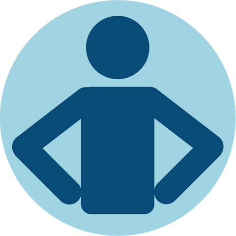 Hands on Hips Icon