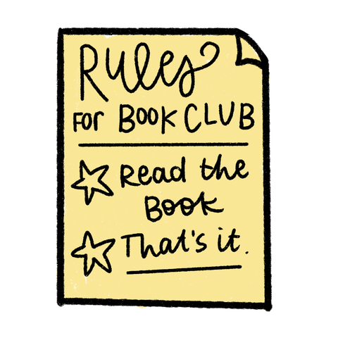 rules for book club