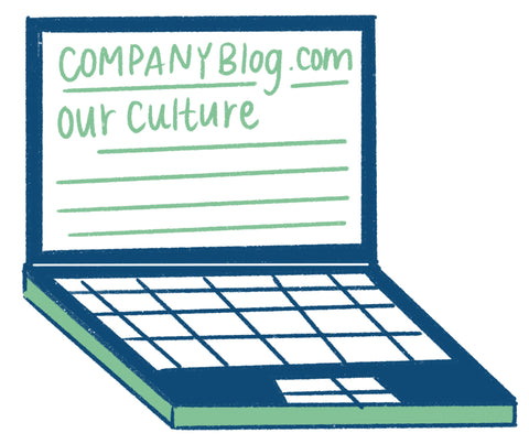 company blog post about culture