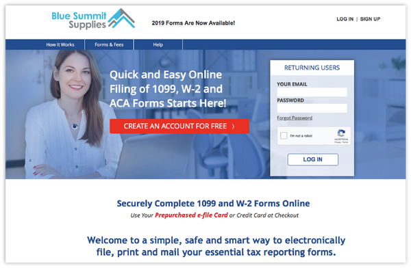 blue summit supplies efiling platform