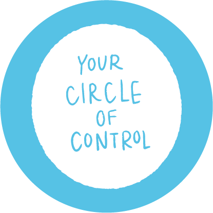 circle of control icon