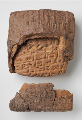 Clay Tablet and Envelope