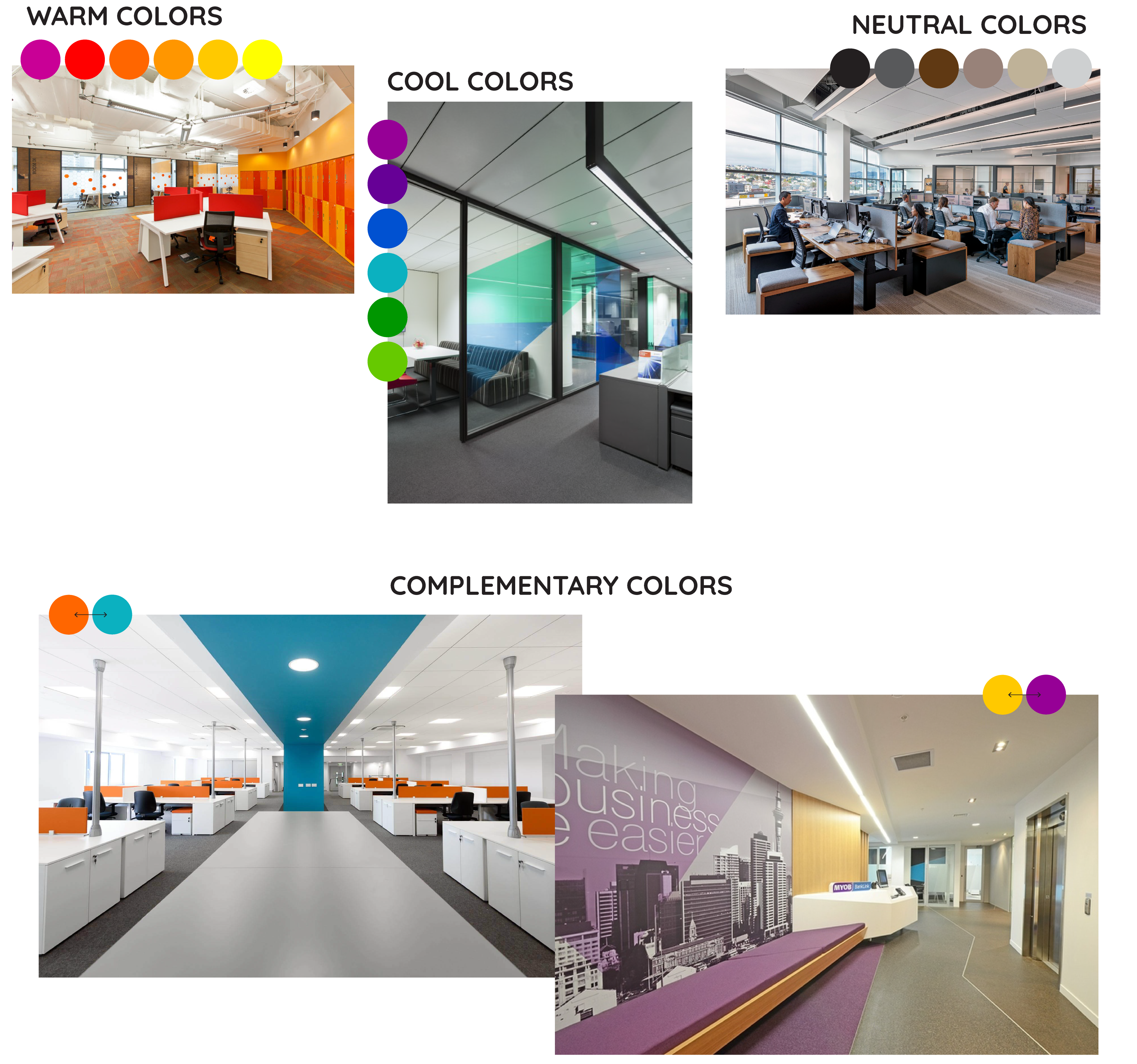 Office Color Palettes