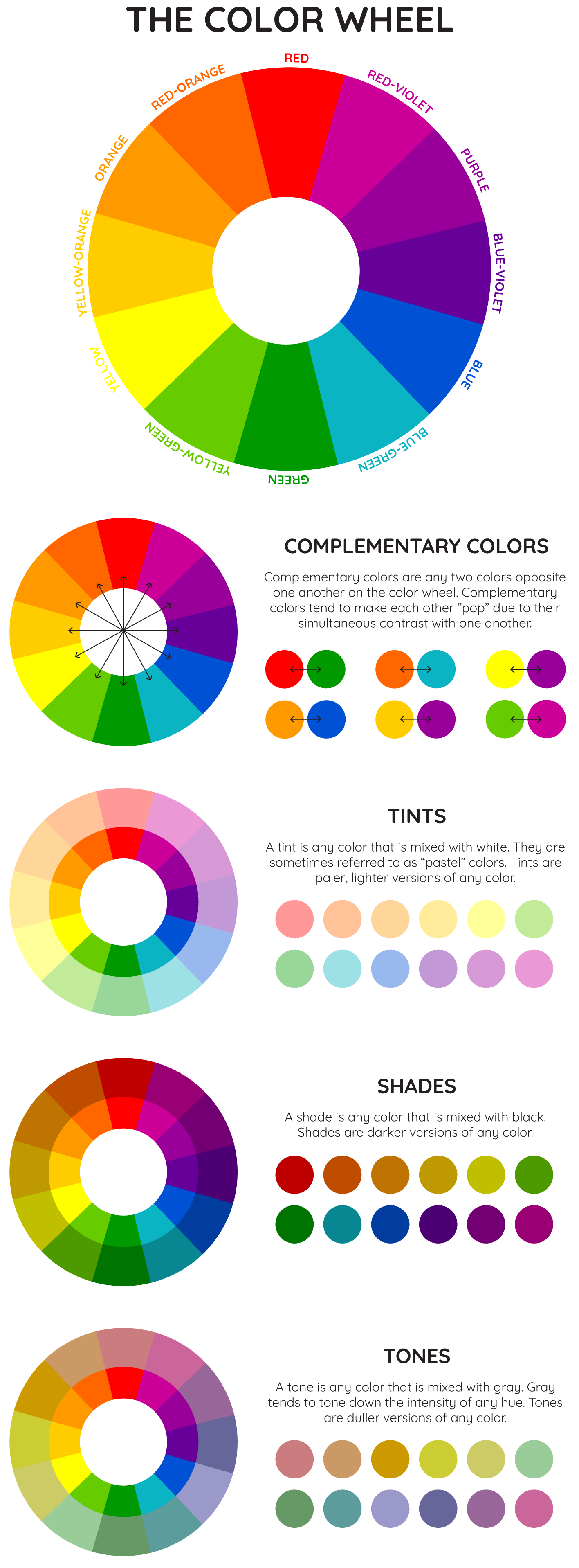Color psychology in the workplace: The Color Wheel