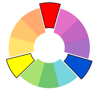 Color psychology in the workplace: Primary colors
