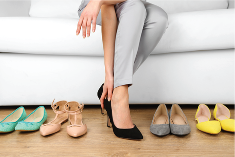 Conference attire: Heels or flats?