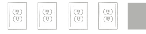 four outlets