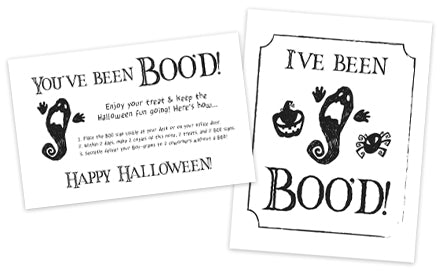 "Free Printable ""Boo"" Signs and Boo Gift Ideas"