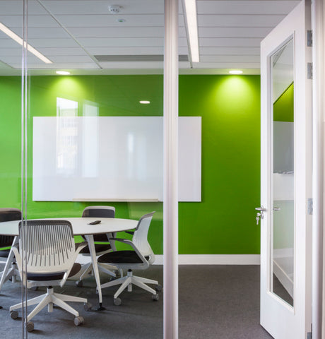 Green color psychology in the workplace
