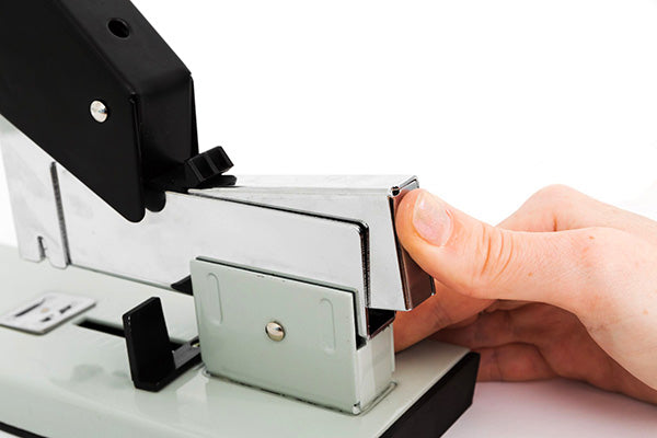 Loading Instructions for Heavy Duty Stapler - Step 1
