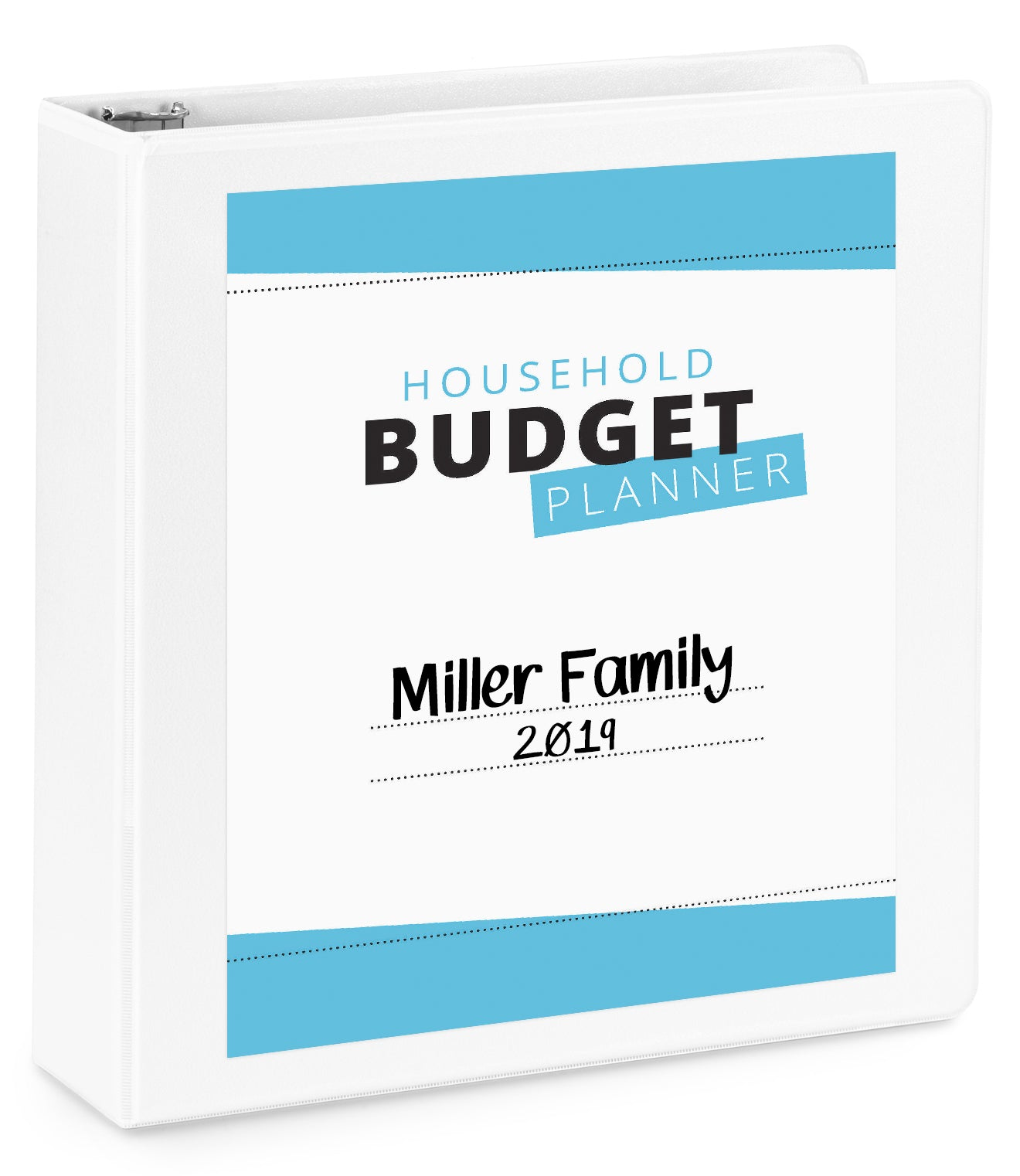 Household Budget Binder Printables