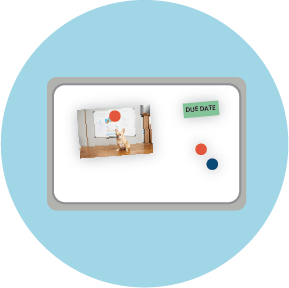 magnetic whiteboard icon