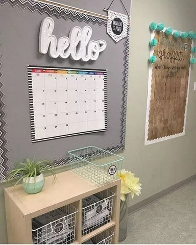 Middle school classroom colors