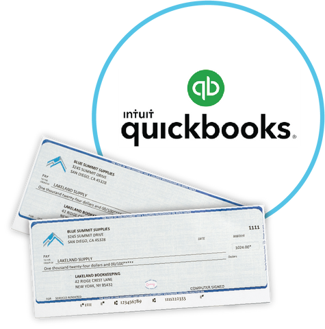 multiple checks in quickbooks