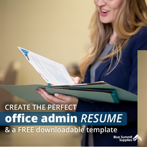 Creating the Perfect Office Admin Resume with Free Downloadable Template