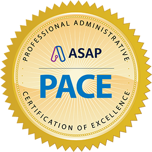 Professional Administrative Certification of Excellence (PACE)
