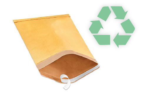 padded envelopes recyclable