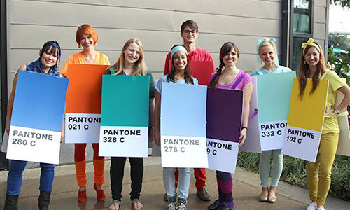 Pantone Swatches Group Costume