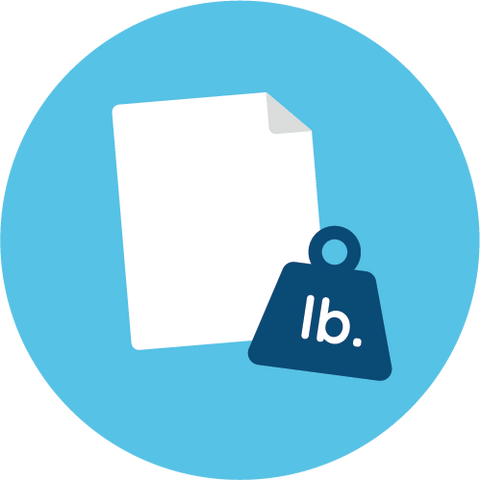 paper weight icon