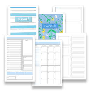 Free mini planner pages