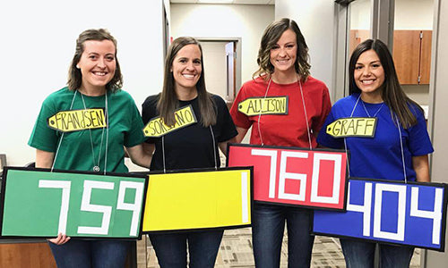 The Price is Right Group Costume