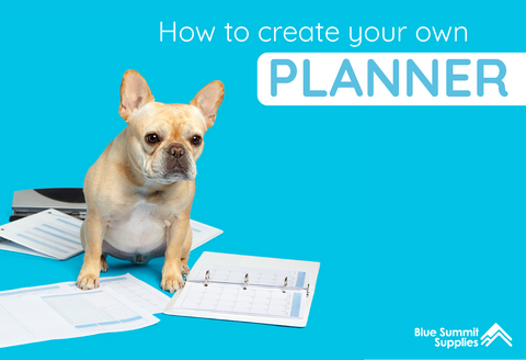 How to Create Your Own Planner with a Mini Binder