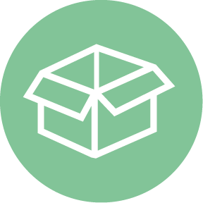 shipping supplies icon