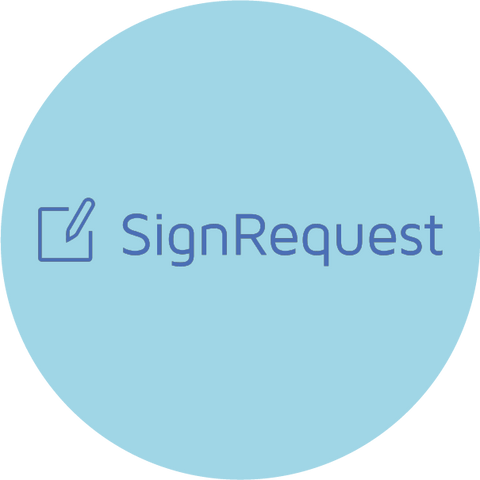 sign request logo