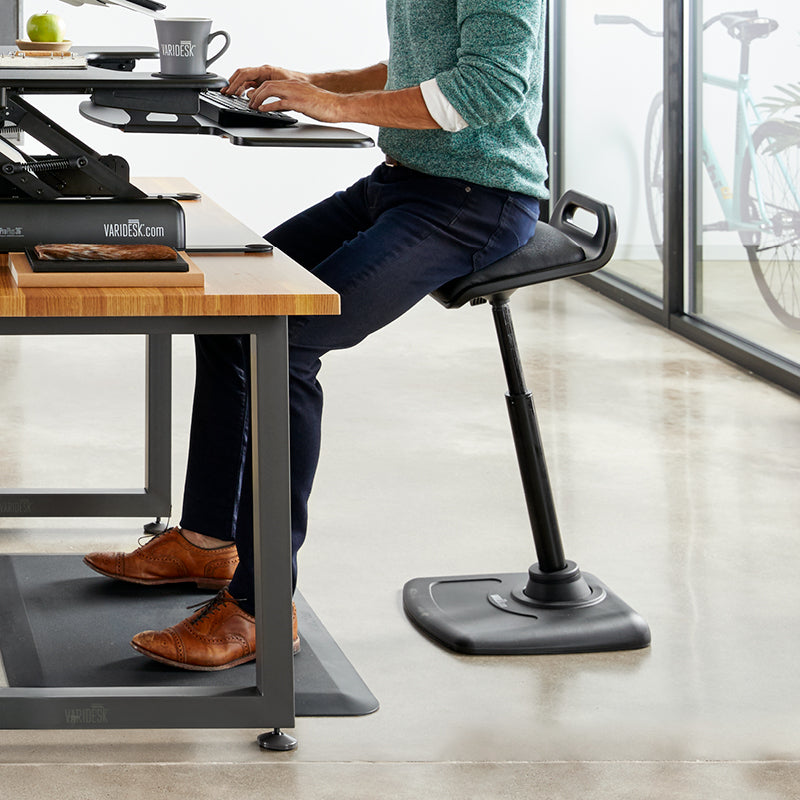 Standing desk chairs