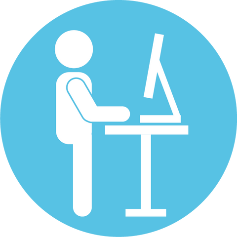 standing desk icon
