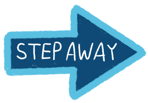 step away icon