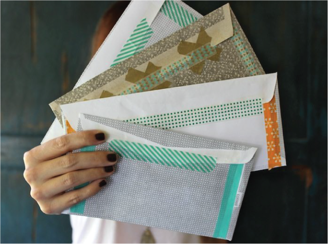 Ways of repurposing envelopes