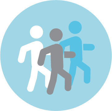 walking meetings icon