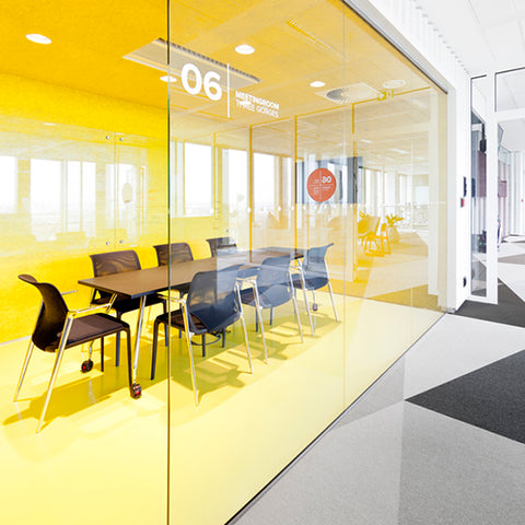 Yellow color psychology in the workplace