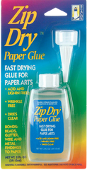 Best glue for paper crafts: Zip Dry glue